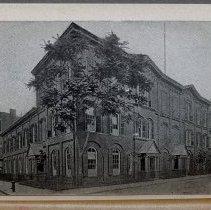 Image of frontispiece, photo: Hoboken Academy 1904