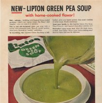 Image of ad Lipton soup, Good Housekeeping Magazine, April, 1956