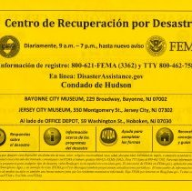 Image of Spanish language side, copy 2: original address