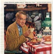 Image of 5: Lipton Tea ad: Gary Cooper, 1945
