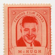 Image of Stamps, 20: Famous Movie Stars, Warner Bros. Issued by Lipton Tea, no date, circa Summer 1935. - Stamp