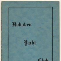 Image of Pamphlet: Hoboken Yacht Club. Hoboken, N.J. Organized Sept. 27, 1901. Constitution and By-laws. (Eff. Feb. 3, 1914.) - Pamphlet