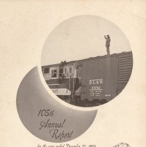 Image of Report, 1956: 105th Annual Report of the Delaware, Lackawanna & Western Railroad, for year ending Dec. 31, 1956. - Report, Annual