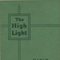 Image of The High Light. Vol. 23, No. 2, March 1943. Demarest High School, Hoboken. - Magazine
