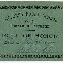Image of Reward of Merit 17: Alice Ketcham, Feb. 15, 1889