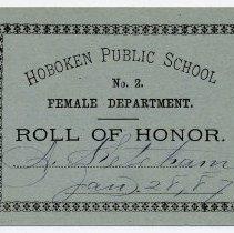 Image of Reward of Merit 9: Alice Ketcham, Jan. 28, 1887