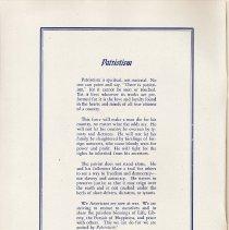 Image of pg 2: Poem: Patriotism, Gertrude Koludrovich