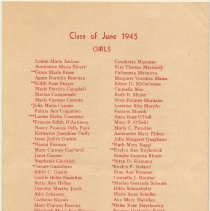 Image of pg [4] Class of June 1945 Girls