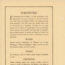 Image of pg [2] Foreword; 1928 Golden Jubilee year (founded 1878)