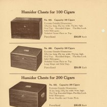Image of pg 4 Humidor Chest for 100 Cigars