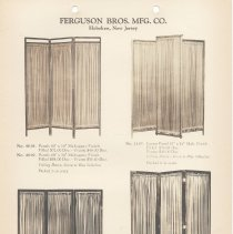 Image of leaf 19 Ferguson Brothers Manufacturing Co. - folding screens