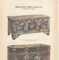 Image of leaf 2 Ferguson Brothers Manufacturing Co. - chests
