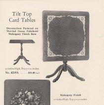 Image of pg 18 Tilt Top Card Tables