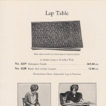 Image of pg 21 Lap Table