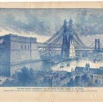 Image of pg 8 illustration: (North River Bridge, designer Gustav Lindenthal)