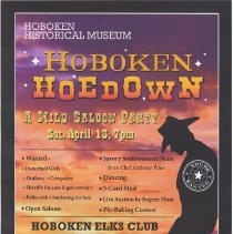 Image of Hoboken Hoedown 2013 poster