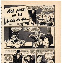 Image of 1: Lipton Tea ad, Bob Picks Up His Bride-to-be..., Woman's Day, August 1949