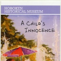 Image of Postcard: A Child's Innocence: Watercolors by Benjamin Roman. HHM, Upper Gallery, May 5 - June 30, 2013.  - Postcard
