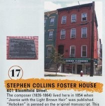 Image of 17 Stephen Collins Foster House