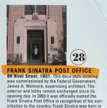Image of 28 Frank Sinatra Post Office