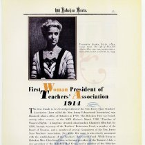 Image of pg 81: 69. First Woman President of Teachers' Association 1914