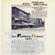 Image of pg 86: First Prohibition Declared! 1917