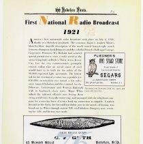 Image of pg 89: 76. First National Radio Broadcast 1921