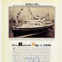 Image of pg 92: 79. First Bartered Ship 1936