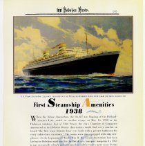 Image of pg 93: 80. First Steamship Amenities 1938