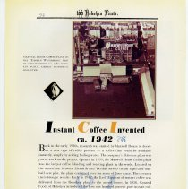 Image of pg 94: 81. Instant Coffee Invented ca. 1942