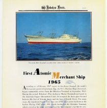 Image of pg 101: 91. First Atomic Merchant Ship 1965