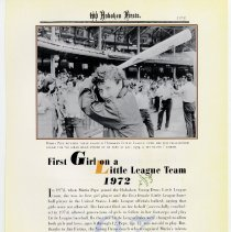 Image of pg 103: 93. First Girl on a Little League Team 1972