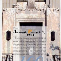 Image of pg [110]: 100. First Automatic Postage in N.J. 2004