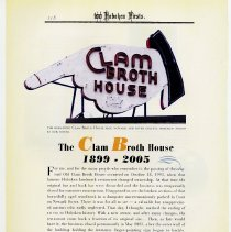 Image of pg 118: The Clam Broth House 1899 - 2005