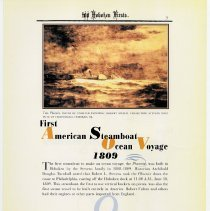 Image of pg 8: 9. First American Steamboat Ocean Voyage 1809