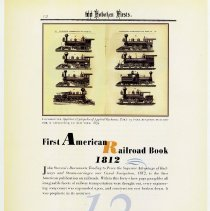 Image of pg 12: 12. First American Railroad Book 1812