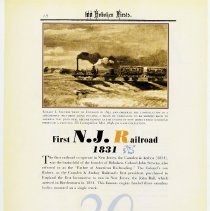 Image of pg 18: 20. First N.J. [New Jersey] Railroad 1831
