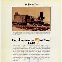 Image of pg 20: 22. First Locomotive Pilot Wheel 1832