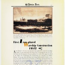 Image of pg 21: 23. First Iron-plated [iron plated] Warship Construction 1842
