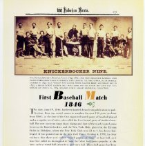 Image of pg 29: 27. First Baseball Match [base-ball]