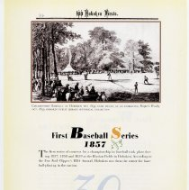 Image of pg 34: 30. First Baseball Series 1857