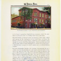 Image of pg 39: 33. First School Kindergarten; illus. Hoboken Academy