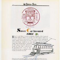 Image of pg 40: 34. Street Car Invented 1861