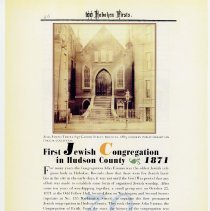Image of pg 46: 39. First Jewish Congregation in Hudson County 1871