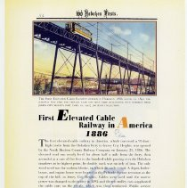 Image of pg 54: 47. First Elevated Cable Railway in America 1886