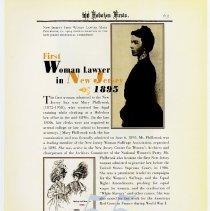 Image of pg 65: 55. First Woman Lawyer in New Jersey 1895
