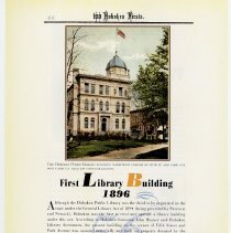 Image of pg 66: 56. First Library Building 1896