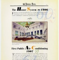 Image of pg 71: 60. The Honor System 1906; 61. First Public Air Conditioning 1907