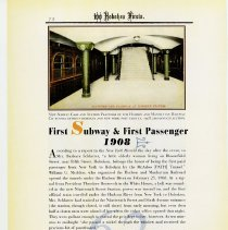 Image of pg 72: 62. First Subway & First Passenger 1908
