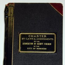 Image of Charter, By-laws and Amendments of the Association of Exempt Firemen of the City of Hoboken. - Book, Record